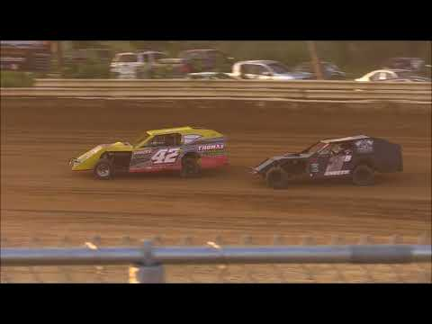 Sport Mod Heat #2 from Jackson County Speedway, June 15th, 2018.