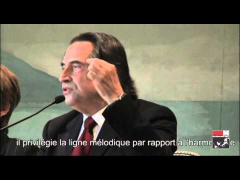 Riccardo Muti e l'importanza dei grandi compositori della Scuola Napoletana del '700