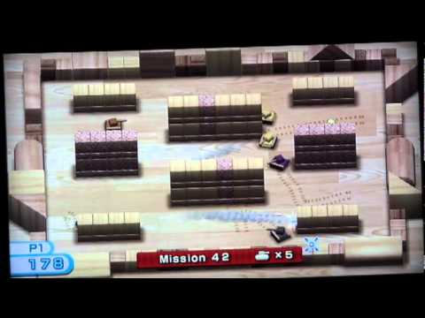 wii play tanks 1 100 full walkthrough complete youtube rh youtube com wii play tanks strategy guide Wii Play Fishing