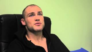 Cathal Pendred preparing for Bruno Carvalho at Cage Warriors 49