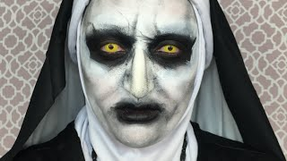 the conjuring 2 valak makeup tutorial