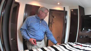 Cruisers Yachts 48 Cantius 2011 Motoryacht  Interior Design / Detail Features - By BoatTest.Com