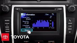 2012 Камрі Як Автомобіль Інформаційний Дисплей | Тойота