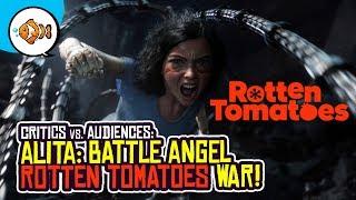 ALITA BATTLE ANGEL: Rotten Tomatoes Critics vs. Audiences!