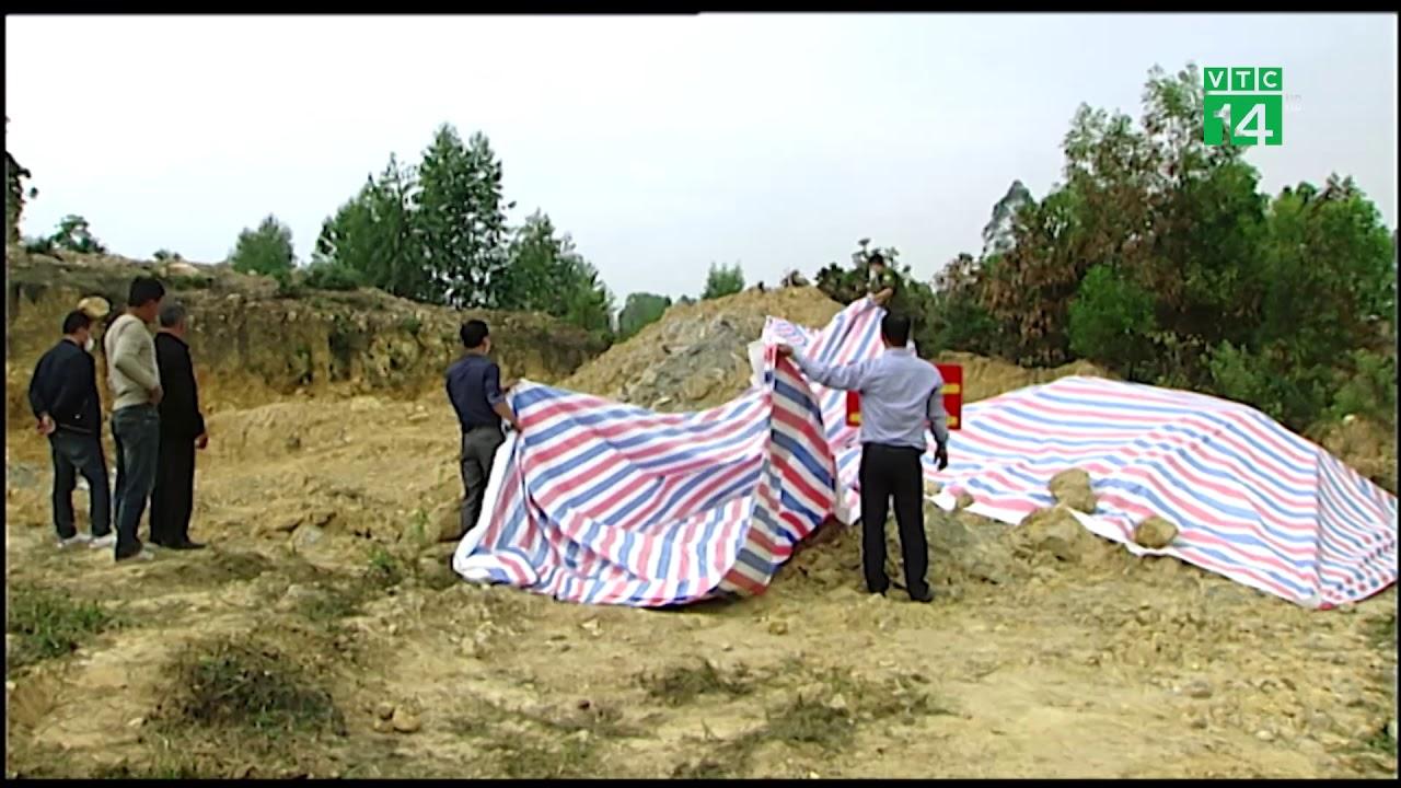 Phát hiện khối lượng lớn chất thải lạ chôn trộm ở Sóc Sơn | VTC14