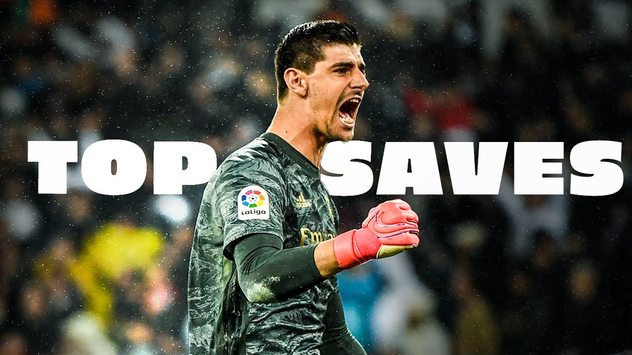 TOP SAVES THIBAUT COURTOIS   REAL MADRID