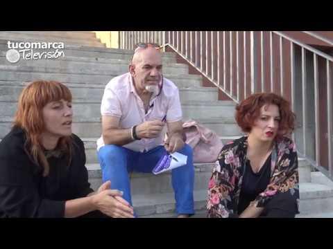 """Vídeo entrevista: VI Bienal de Artes Plásticas y II Festival """"De par en part"""" de Buñol."""