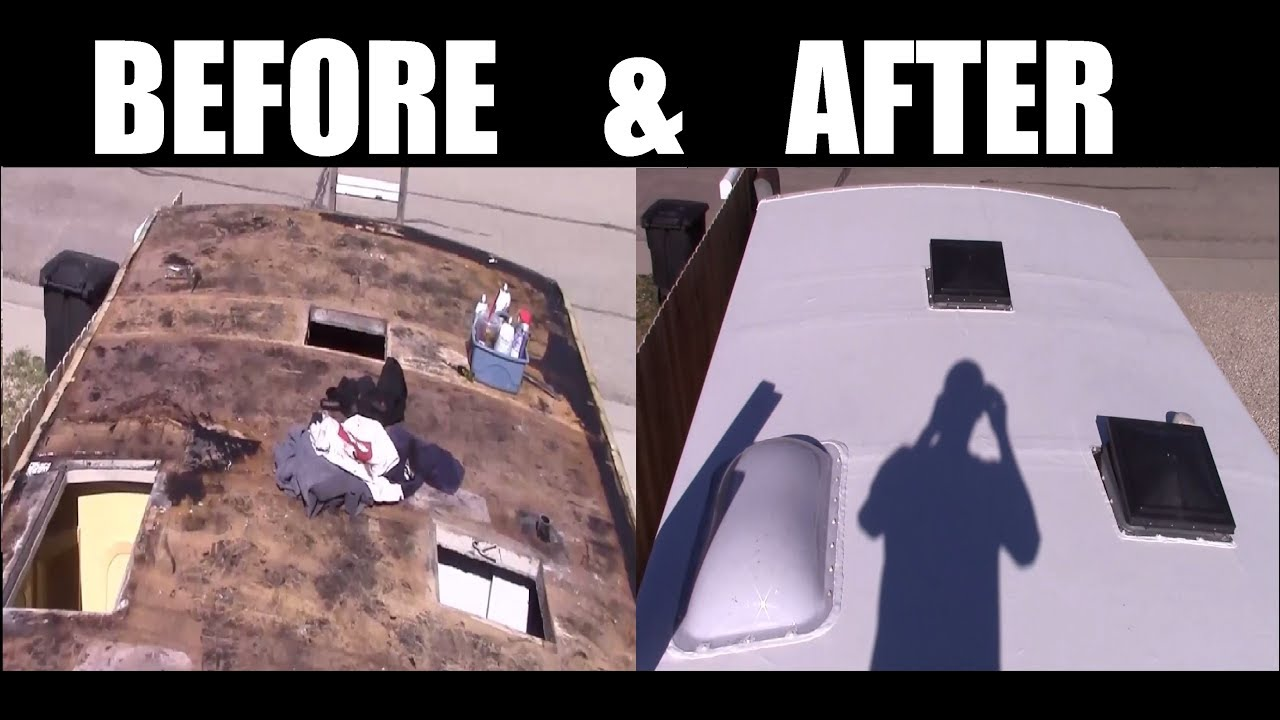 How To Replace Your Rv Or Motorhome Roof Epdm Or Tpo Youtube
