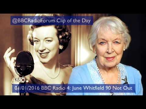 June Whitfield & Joanna Lumley Chatting On BBC Radio 4