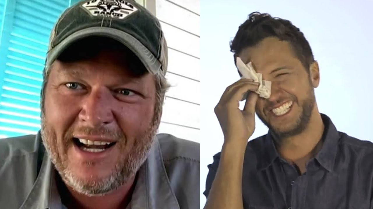 Luke Bryan Shares Tearful Surprise For His Son, Blake Shelton Goes Off About Refunds