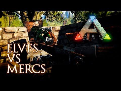 ARK RP PVP ELVES VS. MERCENARIES. RISE OF KINGS: AFTERLIFE MEDIEVAL FANTASY RP SERVER