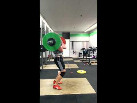 Willie McLendon 135kg Clean & Jerk