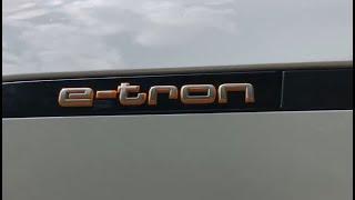 Первый тест AUDI ETRON в Украине