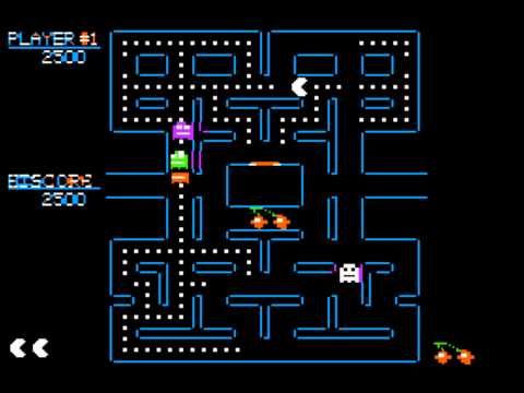 Pac-Man For The Apple II