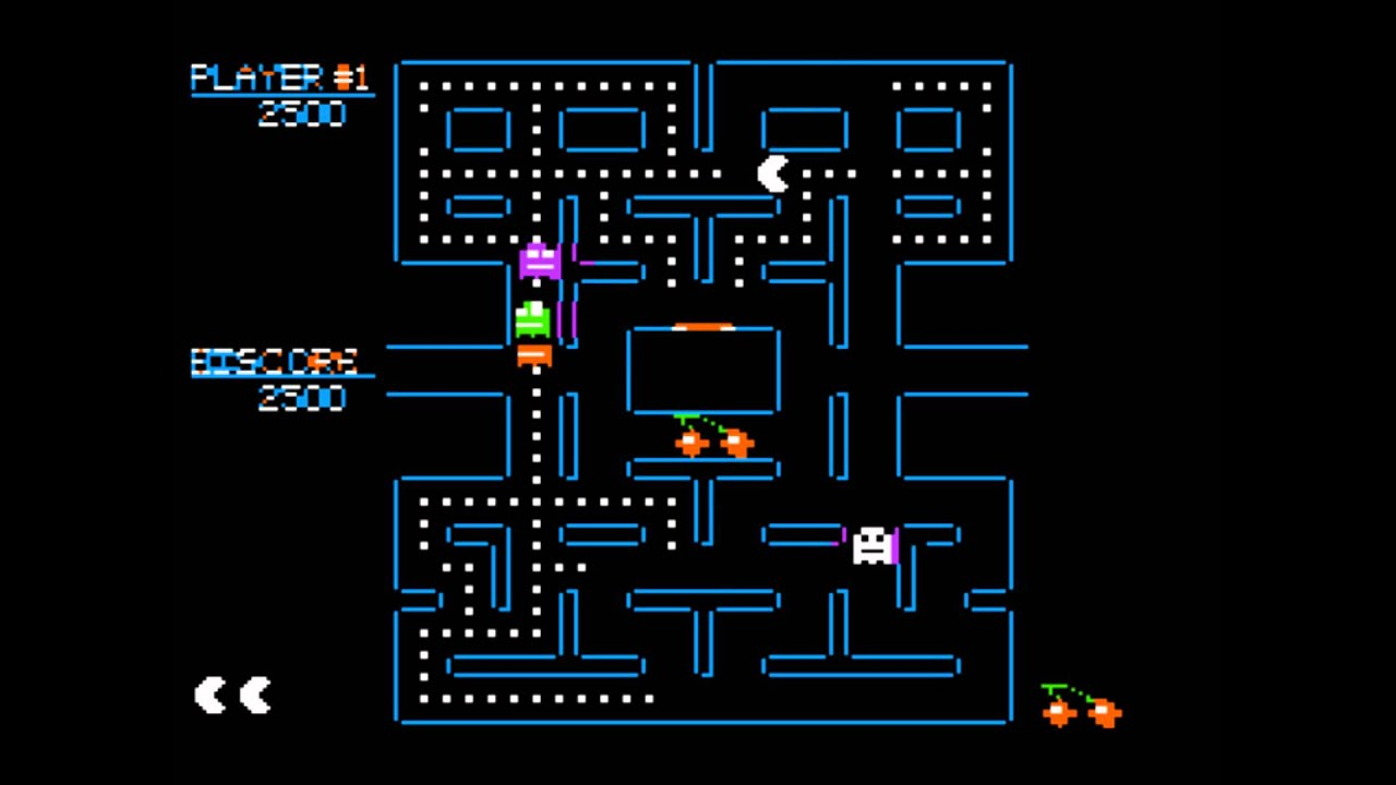 Vintage Map Iphone Wallpaper Pac Man For The Apple Ii Youtube