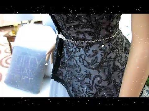 ec47de505 كيفية تفصيل وخياطة قفطان مستوحي من فستان السندريلا - YouTube