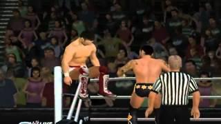 WWE 12 (Wii) Gameplay