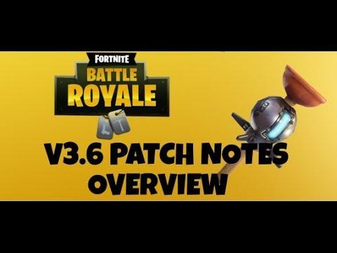 Fortnite Update 3.6 Notes *Clinger Grenade Added* Fortnite Battle Royale Clinger Grenade