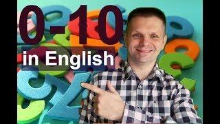 Как выучить цифры 0-10 на английском за 10 мин навсегда! - Как писать и читать цифры
