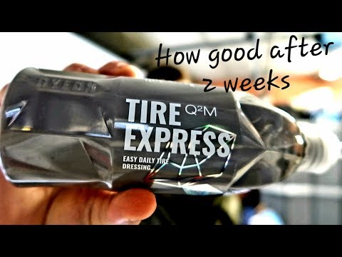 NEW GYEON TIRE EXPRESS!! (RESULTS & DURABILITY TEST!!)