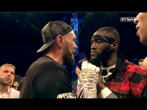 Deontay Wilder and Tyson Fury Reunite For an Ultimate Faceoff in ...