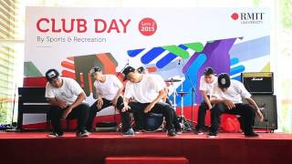 [RMIT SGS Dance Club] Club Day 2015B - Freestyle