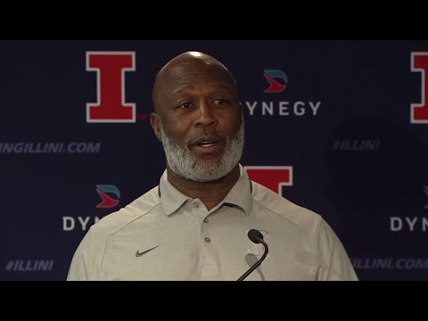 Illinois Football Press Conference 1/26/18