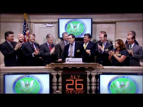 26 July 2011 Federal Energy Regulatory Commission rings the NYSE Closing Bell
