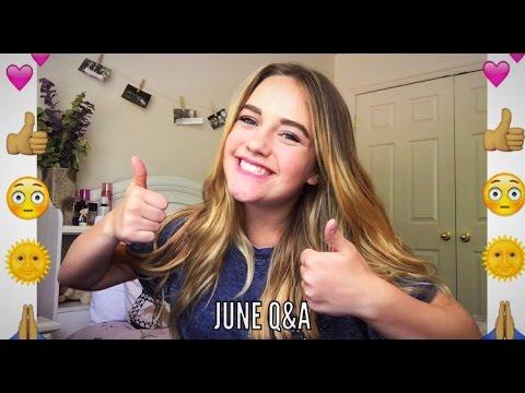 JUNE Q&A|| Kennedy Huff