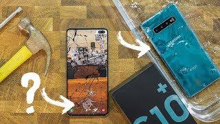 بصمة Samsung Galaxy S10+ لا تعمل في كل الحالات