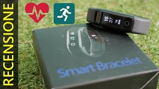 OROLOGIO FITNESS con sensore battito cardiaco: Recensione Smart Bracelet Mpow