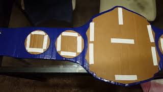NEW TUTORIAL ON HOW TO MAKE A CHAMPIONSHIP BELT: FINAL VID!