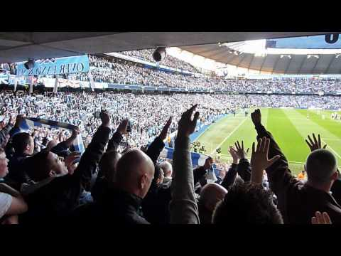 Manchester City v Manchester United Etihad April 2012 Blue Moon