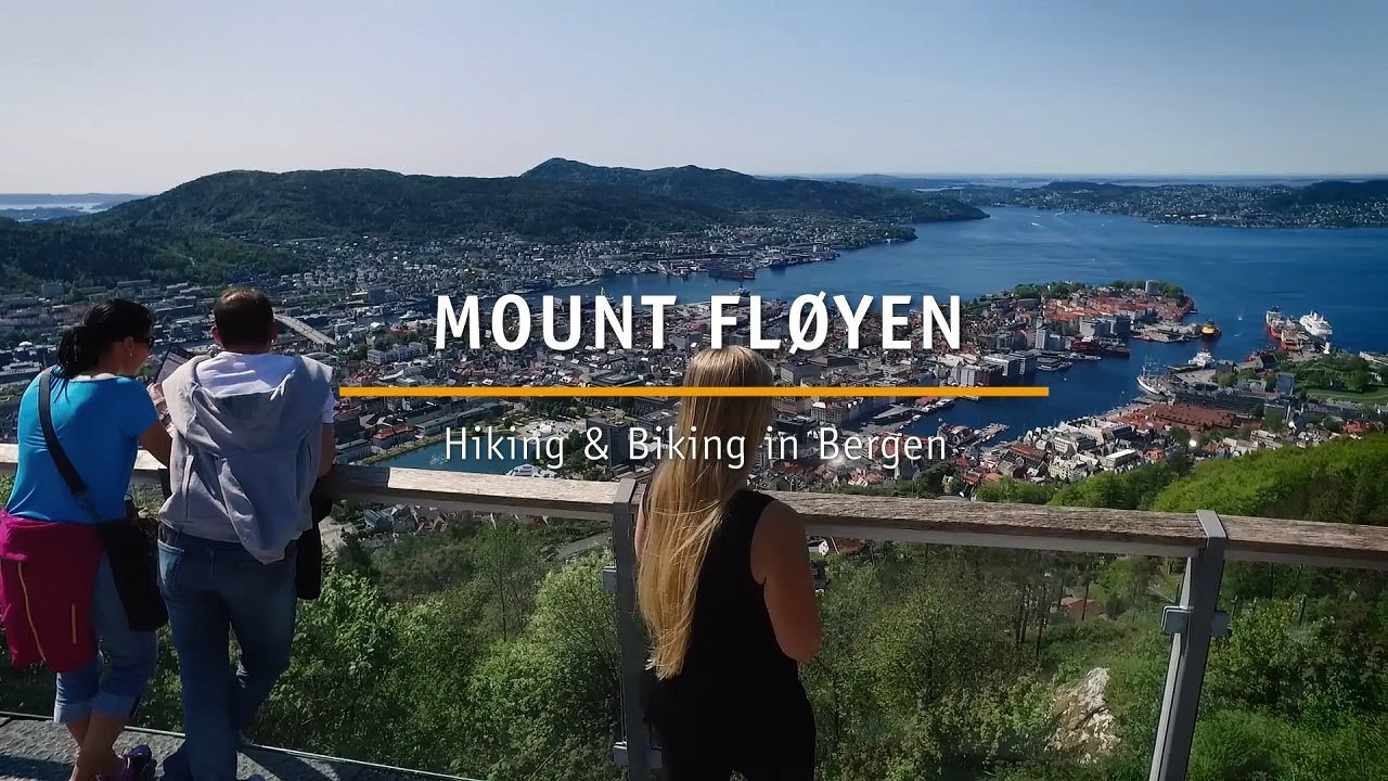 Thumbnail: Hiking and biking at Mount Fløyen in Bergen