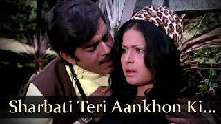 Sharbati Teri Aankhon Ki - Shatrughan Sinha - Rakhi - Blackmail - Bollywood Songs - Kalyanji Anandji