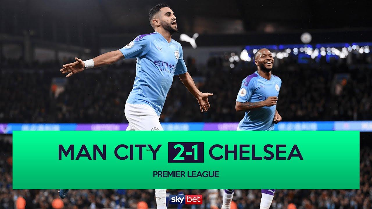 Manchester City v Chelsea: Premier League  live!