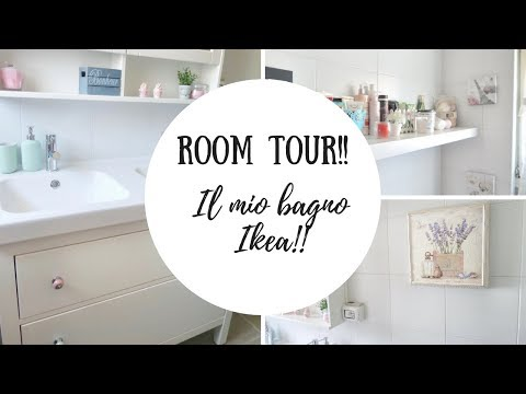 ROOM TOUR: IL MIO BAGNO!!
