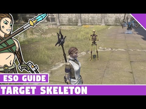 Target Skeleton Crafting Guide - How to get a target skeleton in ESO