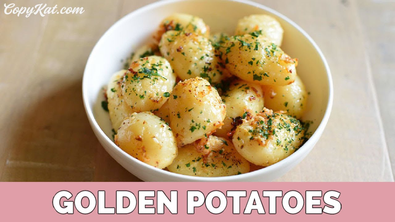 How To Make Roasted Potatoes From Canned Potatoes Youtube