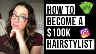 How to become a SIX FIGURE  Hairstylist in 1 Year!!!!! 5 DETAILED HAIR STYLIST MARKETING TIPS!