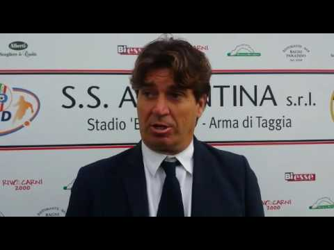 Serie D. Argentina-Sanremese 1-1 Intervista post partita Mister Riolfo (Sanremese)