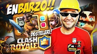 """TV ROYALE"" EN BARZO DESTE CLASH ROYALE #ZaferYolunda"