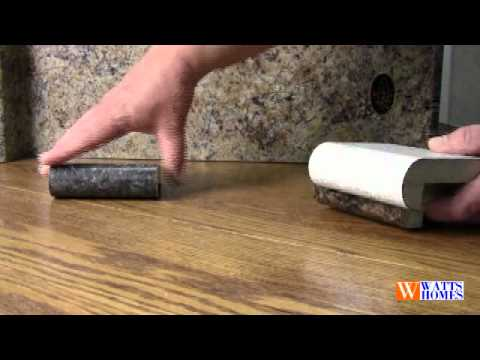 Laminate Countertop Edge Styles Youtube