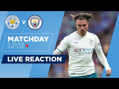 LEICESTER CITY 1-0 MANCHESTER CITY | COMMUNITY SHIELD | MATCHDAY LIVE
