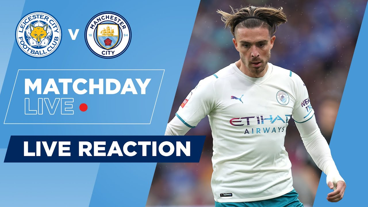 Leicester City 1 0 Manchester City Community Shield Matchday Live Youtube