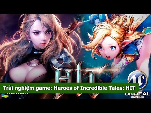 Trải nghiệm phiên bản Tiếng Việt gMO Heroes of Incredible Tales (HIT)