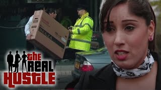 Real Life Scam: Stealing A TV | The Real Hustle