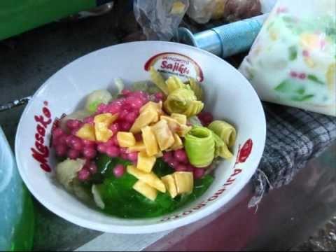 Jakarta Street Food 206 Es Blewah complete