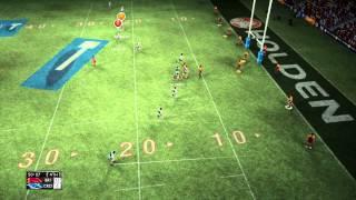 Rugby League Live 2 | Broncos vs Sharks DLC 2013 | Gameplay