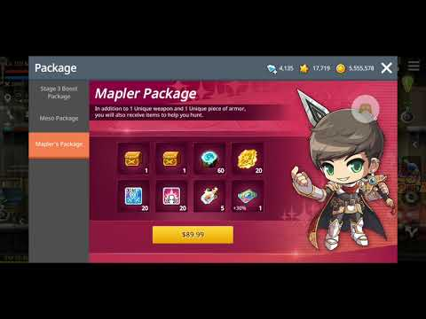 Maplestory M The Basics And The Differences